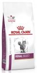 Royal Canin Renal Select Feline Корм сухой диетический для взрослых кошек для поддержания функции почек, вес 400 гр
