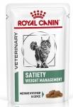 Royal Canin Satiety Weight Management Feline Корм влажный диетический для кошек для снижения веса, 85 гр.