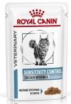 Royal Canin Sensitivity Control Canine Корм сухой диетический для кошек при пищевой аллергии, соус, 85 гр.