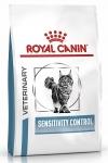 Royal Canin Sensitivity Control SC 27 Feline Корм сухой диетический для взрослых кошек при пищевой аллергии, утка, вес 400 гр.