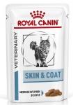 Royal Canin Skin&Coat Formula Корм полнорационный для взрослых кошек с повышенной чувствительностью кожи, соус, 85 гр.