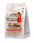 SAVARRA KITTEN корм для котят, индейка и рис, вес 400г.