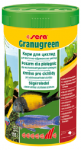 Sera гранулы Granugreen для мелких растительноядных рыб, 135 гр.