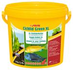 Sera гранулы Cichlid Green XL для крупных растительноядных рыб, 3,6 кг.