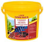 Sera гранулы Cichlid Red XL для крупных плотоядных рыб, 1,3 кг.