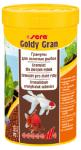 Sera гранулы Goldy Gran для крупных золотых рыб, 30 гр.