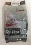 Наполнитель Cat Litter Silitter комкующийся с активированным углем, 5 л.