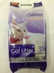 Наполнитель Cat Litter Silitter комкующийся с ароматом лаванды, 5 л.