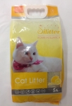Наполнитель Cat Litter Silitter комкующийся с ароматом лимона, 5 л.
