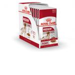 ! Royal Canin Medium Adult Корм консервированный для взрослых собак средних размеров до 10 лет, вес 140 гр.