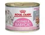 ! Royal Canin Mother&Babycat Корм для котят в период первой фазы роста и отъема,беременных и кормящих кошек, мусс, 195 гр.