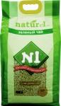 """Наполнитель №1 NATUReL с ароматом """"Зеленый чай"""" растительный комкующийся, 17,5 л."""