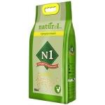 """Наполнитель №1 NATUReL с ароматом """"Кукурузный"""" растительный комкующийся, 17,5 л."""