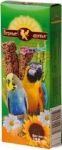 Вер.Друзья лакомство для попугаев Кунжут (2шт) 150гр.
