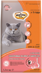 Мнямс Skin&Coat для кошек здоровье кожи и шерсти с лососем, вес 10 кг.