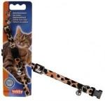 Ошейник Nobby д/кошек Леопард 78072