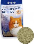 Наполнитель Сибирская кошка Прима комкующийся, 5 л.