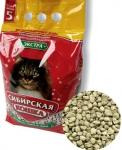 Наполнитель Сибирская кошка Экстра впитывающий, 5 л.