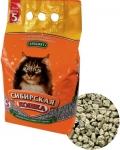 Сибирская кошка Бюджет впитывающий наполнитель для кошек, 20 л.