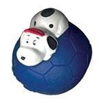 Мяч футбольный с собакой винил d70мм Triol