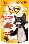 Мнямс пауч для кошек Мясной карнавал (утка, индейка, курица), 100 г