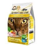Ночной охотник для кошек Курица/рис сухой,вес 1,5 кг.