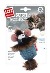 Игрушка для кошек Gigwi Мышка с кошачьей мятой, 7 см.