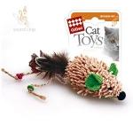 Игрушка для кошек Gigwi Мышка с электронным чипом, 7 см.