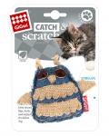 Игрушка для кошек Gigwi Сова с кошачьей мятой, 7 см.