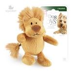 Игрушка для собак Gigwi Лев с пищалкой, 10 см.
