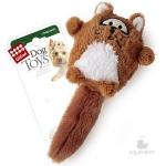 Игрушка для собак Gigwi Лиса с большой пищалкой, 9 см.