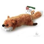 Игрушка для собак Gigwi Лиса с бутылкой и пищалкой, 63 см.