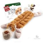 Игрушка для собак Gigwi Обезьяна с 19-тью пищалками, 34 см.