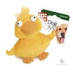 Игрушка для собак Gigwi Утенок с пищалкой, 11 см.