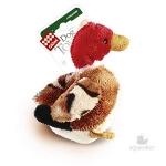 Игрушка для собак Gigwi Утка с пищалкой, 11 см.