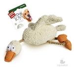 Игрушка для собак Gigwi Утка с пищалкой, 36 см.