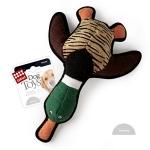 Игрушка для собак Gigwi Утка с пищалкой, 40 см.