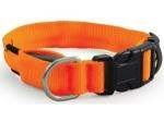 ! Ошейник Triol светодиодный неоновый оранжевый 25*310-410 мм (M). СКИДКА 10%