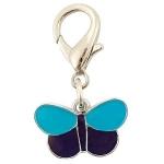 """! Подвеска """"Голубая бабочка"""", 40 мм, Triol. СКИДКА 25%"""