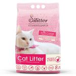 Наполнитель Cat Litter Silitter Eco Clear комкующийся, 8 л.