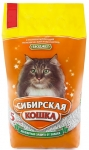 Наполнитель Сибирская кошка Бюджет впитывающий, 7 л.
