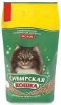 Наполнитель Сибирская кошка Лесной древесный, 7 л.
