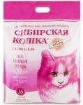 Наполнитель Сибирская кошка Элита розовый силикагелевый, 16 л.
