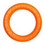 Игрушка для собак Doglike Tug&Twist Кольцо 8-мигранное 120 мм, оранжевое.