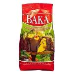 Вака Высокое качество для мелких и средних попугаев с минералами и овощами, вес 500 гр.