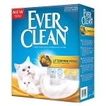 Наполнитель Ever Clean комкующийся для чистых лап, 10 кг.