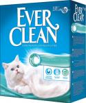 Наполнитель Ever Clean комкующийся с ароматом морского бриза, 6 кг.