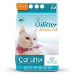 Наполнитель Cat Litter Silitter древесный, 5 л (3 кг).