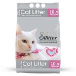 Наполнитель Cat Litter Silitter силикагелевый голубой, 5 л (2,05 кг).