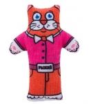 Игрушка для кошек с валерианой Котик